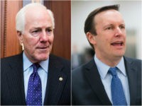 John Cornyn (R-TX) and Chris Murphy (D-CT)
