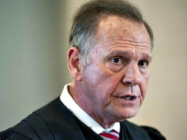 Judge Roy Moore in Robe