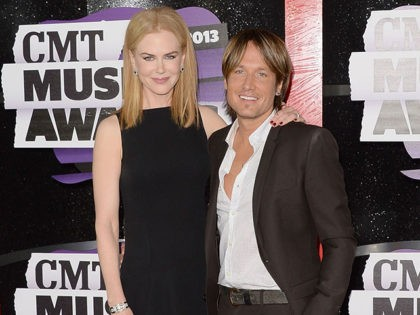 NASHVILLE, TN - JUNE 05: Nicole Kidman and Keith Urban attend the 2013 CMT Music awards at the Bridgestone Arena on June 5, 2013 in Nashville, Tennessee. (Photo by Jason Merritt/Getty Images)