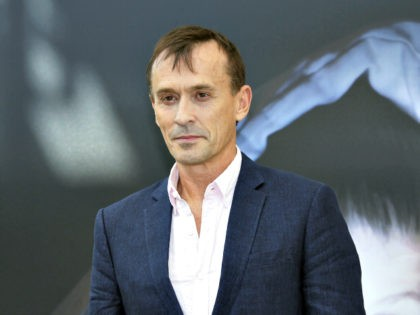US actor Robert Knepper poses during a photocall for the TV show 'Texas Rising' as part of the 55th Monte-Carlo Television Festival on June 15, 2015 in Monaco. AFP PHOTO / VALERY HACHE (Photo credit should read VALERY HACHE/AFP/Getty Images)
