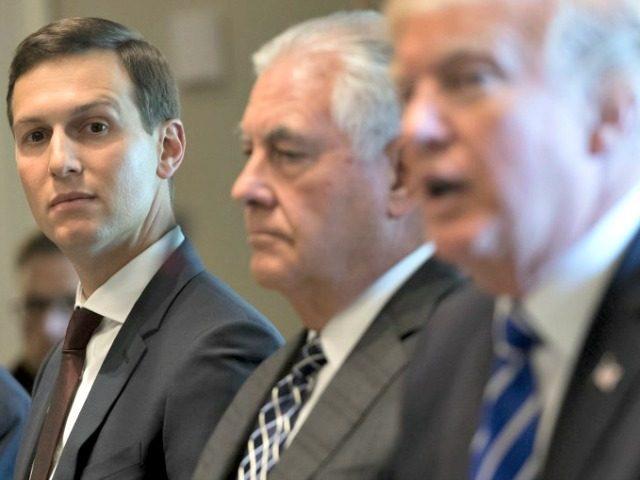 Kushner, Tillerson, Trump