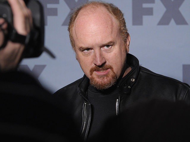 NEW YORK, NY - MARCH 29: Comedian Louis C.K. is interviewed during the 2012 FX Ad Sales Upfront at Lucky Strike on March 29, 2012 in New York City. (Photo by Michael Loccisano/Getty Images)