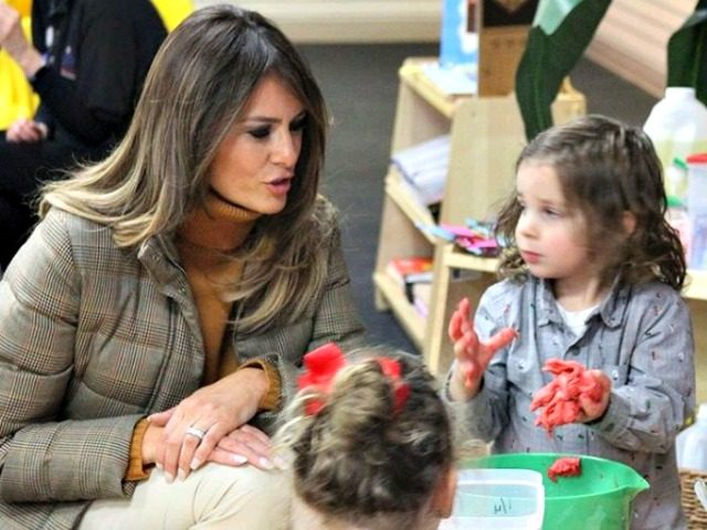 Melania Trump Alaska Preschool