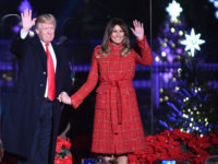 WASHINGTON, DC - NOVEMBER 30: President Donald Trump and the first lady Melania Trump attend the 95th annual National Christmas Tree Lighting held by the National Park Service at the White House Ellipse in Washington, D.C., November 30, 2017. The Beach Boys, Wynonna, The Texas Tenors, Craig Campbell were among …