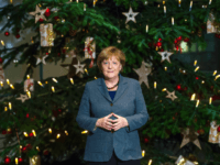 Merkel's Gift to Europe: Anti-Terror Barriers 'Lovingly Wrapped' for Christmas