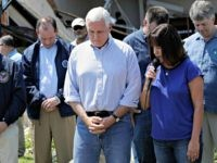 Mike Pence Prays in Texas