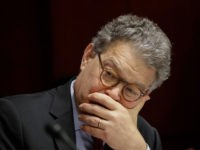 FILE - In this June 21, 2017 file photo, Sen. Al Franken, D-Minn., listens at a committee hearing at the Capitol in Washington. Franken apologized Thursday after a Los Angeles radio anchor accused him of forcibly kissing her during a 2006 USO tour and of posing for a photo with …