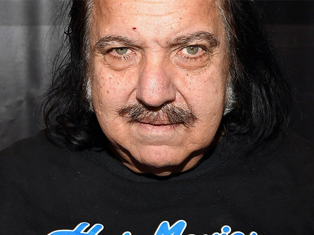 LAS VEGAS, NV - JANUARY 18: Adult film actor Ron Jeremy appears at the HotMovies.com booth at the 2017 AVN Adult Entertainment Expo at the Hard Rock Hotel & Casino on January 18, 2017 in Las Vegas, Nevada. (Photo by Ethan Miller/Getty Images)