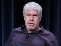 BEVERLY HILLS, CA - AUGUST 03: Actor Ron Perlman speaks onstage during the 'Hand Of God' panel discussion at the Amazon Studios portion of the 2015 Summer TCA Tour at The Beverly Hilton Hotel on August 3, 2015 in Beverly Hills, California. (Photo by Frederick M. Brown/Getty Images)