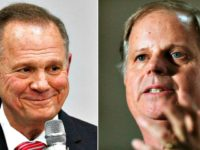 Roy Moore, Doug Jones Associated Press