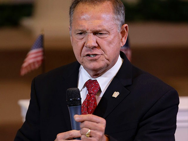 Roy Moore Charges Vote Fraud in Alabama Senate Race