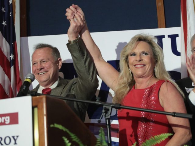 Roy Moore and Kayla Moore (Scott Olson / Getty)