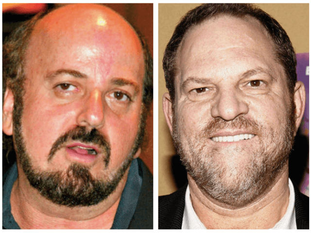 James Toback and Harvey Weinstein (Wire services)