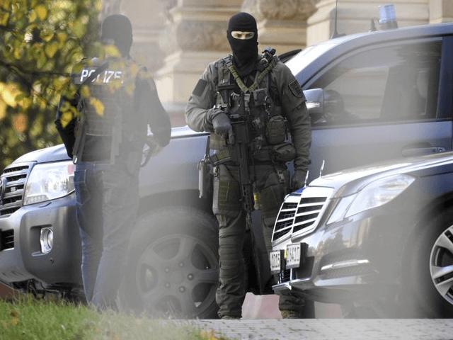 German police terror