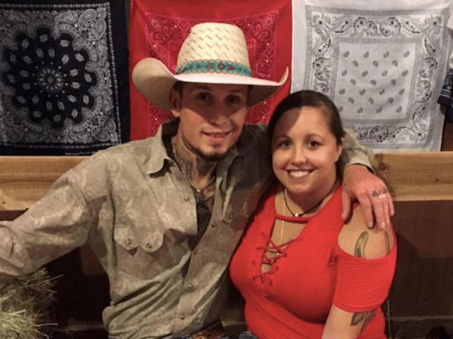 Johnnie Langendorff and girlfriend Summer Caddell (Facebook)