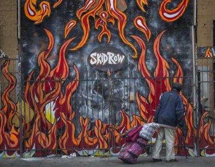 Skid Row Los Angeles (David McNew / Getty)