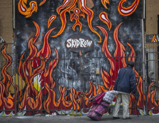 Skid Row Los Angeles (David McNew / Getty)