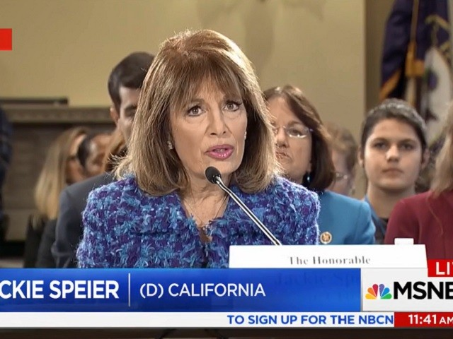 photo image Dem Rep Speier: 'There Are Two Members of Congress' Who 'Have Engaged In Sexual Harassment'