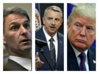 Trump/Gillespie/Cuccinelli collage
