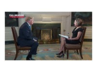 "President Donald Trump sat down for an interview with Sharyl Attkisson on ""Full Measure"" on November 2, 2017."
