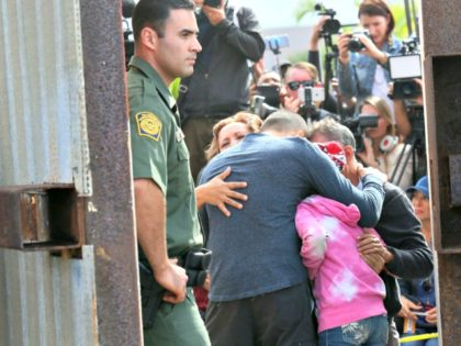 US Mexico Border SANDY HUFFAKERAFPGetty Images