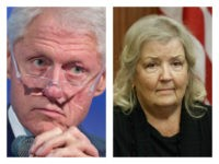 Bill Clinton and Juanita Broaddrick collage