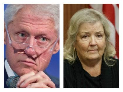 Bill Clinton and Juanita Broaddrick collage