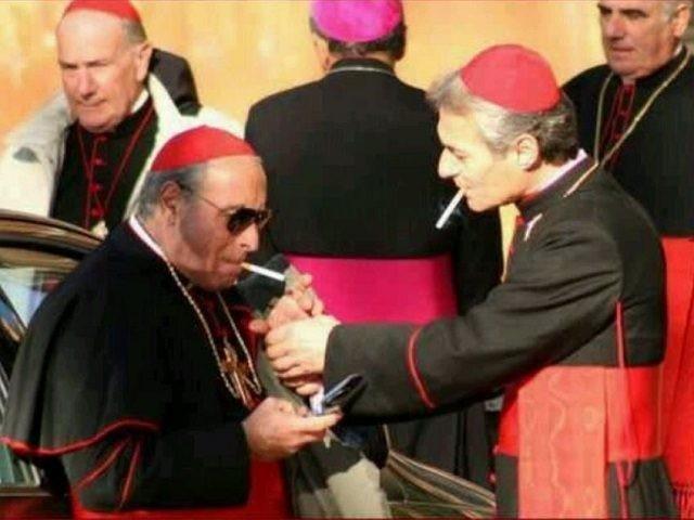bishops smoking