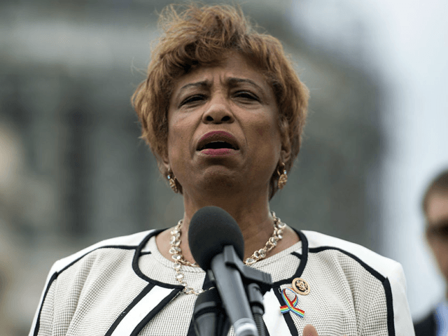 Rep. Brenda Lawrence told POLITICO that no one ever told her they were uncomfortable with her chief of staff, Dwayne Duron Marshall. But three former aides told POLITICO that they told her about their concerns. | Leigh Vogel/Getty Images for MoveOn.org
