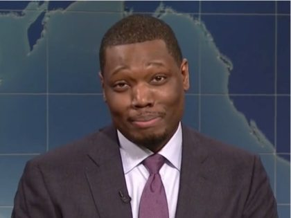 """Saturday Night Live"" Weekend Update co-host Michael Che took on …"