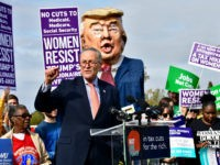 chuck-schumer-donald-trump-women-resist