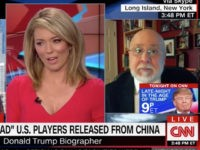 "Monday on ""CNN Newsroom,"" while discussing President Donald Trump's tweet …"