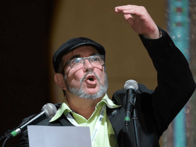 "FARC leader Rodrigo Londono, known as ""Timochenko,"" said the demobilized rebel group was being transformed into a ""new, exclusively political organization"" in Colombia"