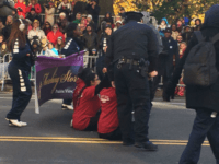 Only Four DACA Illegal Aliens Show Up for Anti-Trump Thanksgiving Day Parade Protest
