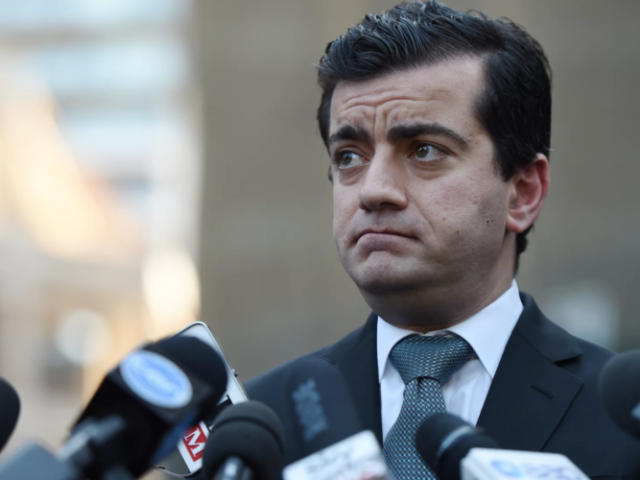 Labor senator Sam Dastyari told the Chinese media in September 2016 that Australia shouldn't interfere with China's activities in the South China Sea, contradicting his own party's policy. Photograph: Dean Lewins/AAP