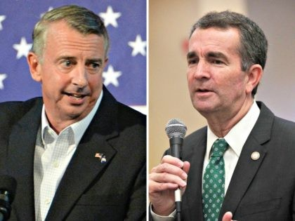 Ed Gillespie and Ralph Northam