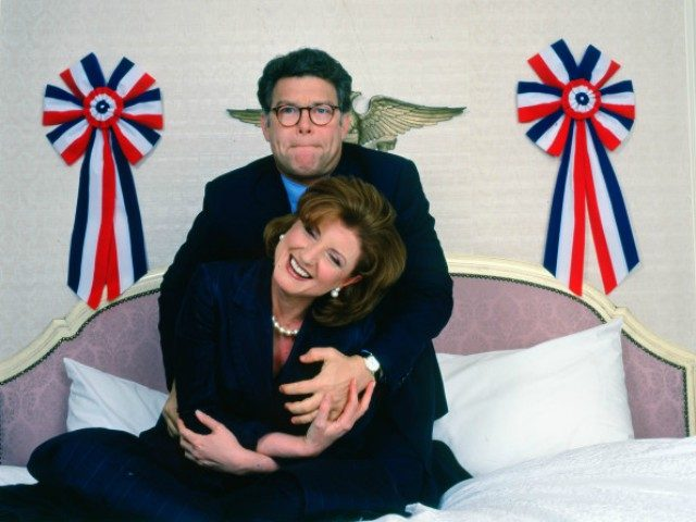 Al Franken's Arianna Huffington Groping All in Fun, She Says