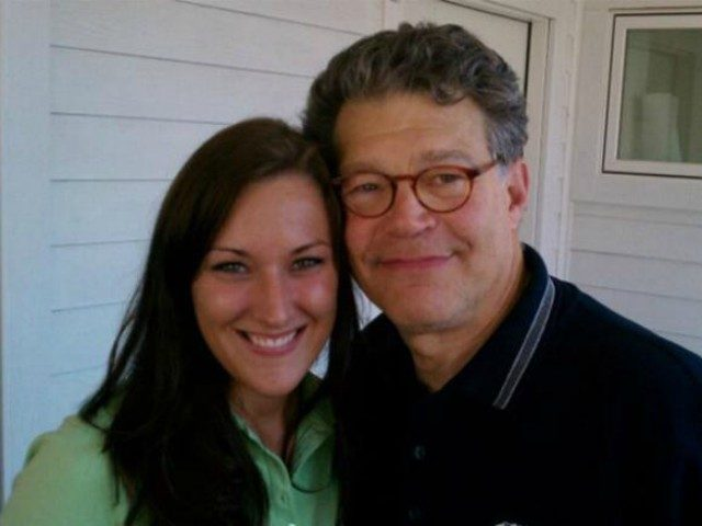 Texas woman Lindsay Menz‏ has accused Sen. Al Franken of grabbing her inappropriately from behind during a 2010 photo with the senator at the Minnesota State Fair.