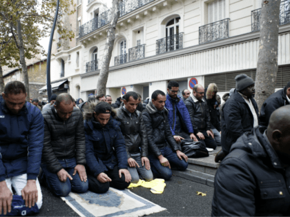 Muslim Street Prayers Forced Off Paris Boulevard After Angry Clashes