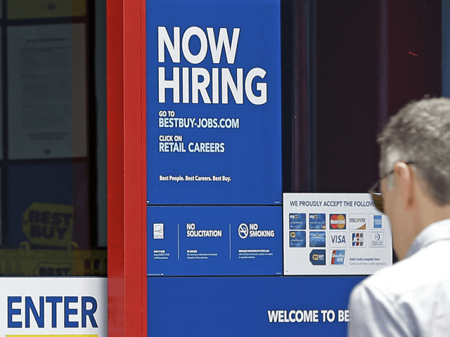 jobs rise