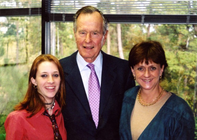 George Bush Snr 'groped 16-year-old girl'