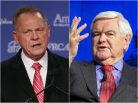 Roy Moore and Newt Gingrich