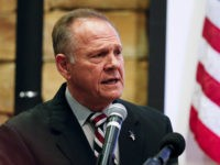 Former Alabama Chief Justice and U.S. Senate candidate Roy Moore speaks at an event at the Vestavia Hills Public library, Saturday, Nov. 11, 2017, in Birmingham, Ala. According to a Thursday, Nov. 9 Washington Post story an Alabama woman said Moore made inappropriate advances and had sexual contact with her …