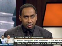 "Monday, ESPN ""First Take"" co-host Stephen A. Smith said in …"
