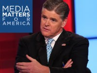 Sean Hannity appears on FOX News Channel's 'Hannity.' (Photo by Rob Kim/Getty Images)