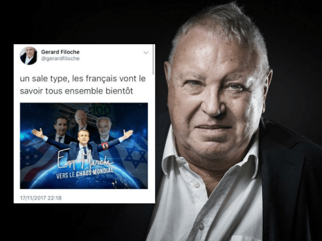 French Socialist politician and labour leader Gérard Filoche has been unceremoniously booted from his party over an anti-Semitic tweet that targeted President Emmanuel Macron.