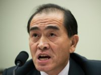 Thae Yong-Ho was testifying before the Foreign Affairs Committee in the House of Representatives at a time of soaring tensions between Pyongyang and the West over the regime's nuclear and missile tests