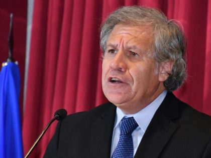 The Secretary General of the Organization of American States (OAS) Luis Almagro is an outspoken critic of President Nicolas Maduro's government