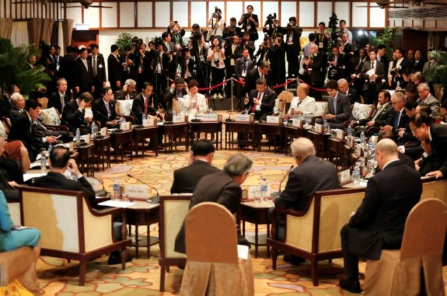 After days of talks on the sidelines of the APEC summit in Danang, the so-called TPP-11 nations made a breakthrough early Saturday, a day after Donald Trump's ladled out more 'America First' rhetoric in an address to world leaders