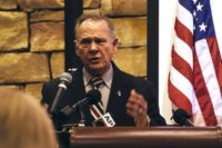 Embattled Republican candidate for US Senate Roy Moore of Alabama faces accusations of sexual misconduct with underage girls when he was in his 30s